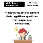 Cover Teacher's Guide for Me Time Micro break Catch Fitness resources