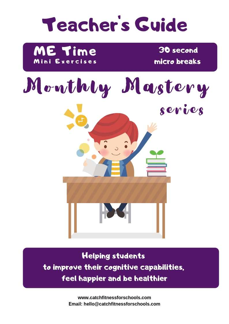 Me Time Teacher's Guide Cover