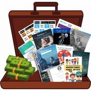 School resources challenge win prizes open bag