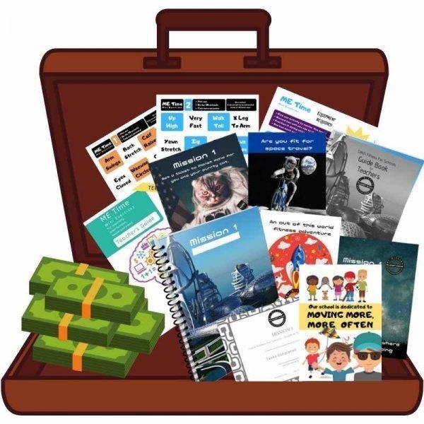 School resources challenge win prizes open bag