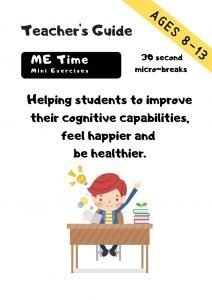 Micro breaks Me Time Teacher's Guide Cover